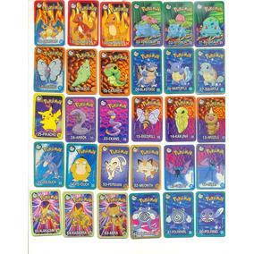 *sll* Tazo Card Pokemon Elma Chips Coleção Completa
