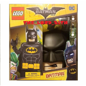 Set O Disfraz De Batman Movie Mascara Guantes Tunica De Lego