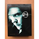 24, Tercera Temporada Dvd, Importada. Sub Esp/ing. 7 Discos.