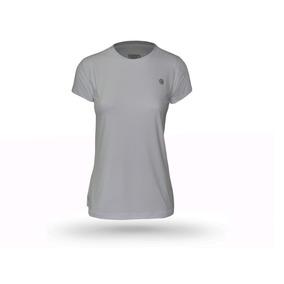 Camiseta Feminina Manga Curta Com Proteção Solar Uv 50+