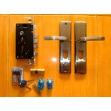 Cerradura Puerta Seguridad 60mm Tipo Multilock
