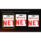 Tarjeta Netflix | Pin De Recarga Original | Pin De 100000