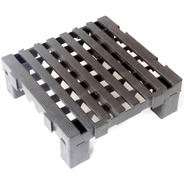 1 Piso Plástico Palete 40x40 X 4,5 + 4 Prolongador