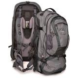Mochila Traveller 80+10 Cinza - Deuter + Nf + Garantia