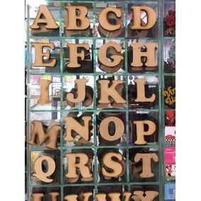 Letras De Madera 6 Cm