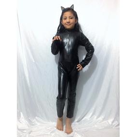 Disfraz Gatubela Diablita Sexy Catsuit Hallowen + Envio