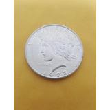 Moneda De 1 Dolar Peace Plata Ley 0.900 - 26.73 Gms 1923