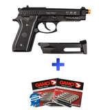 Pistola Pressao Co2 Airsoft Pt99 Taurus Blowback Nota Fiscal