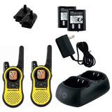 Radio Comunicador 37km Talkabout Walk Talk Motorola Mh230 U