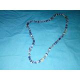 Collar Flexible De Piedras Preciosas Variadas Originales