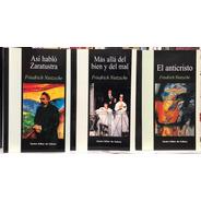 Nietzsche - Zaratustra Anticristo Mas Allá Del Bien - Cec