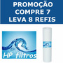Cartucho Refil P/ Filtro Água E Caixa Fortlev Compre 7 Lev 8