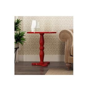 Mesa Lateral Vermelho - Patrimar Móveis