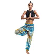 Pantalones De Tela De Tailandia Yoga Meditación