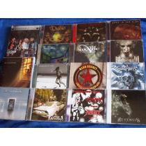 Lote 12 Cds Rock Heavy Thrash Death Gothic Metal | Escolha