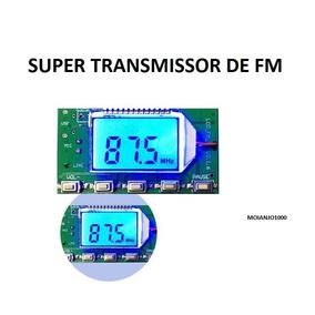Transmissor Dsp Pll 87 A 108 Mhz Digital Stereo Fm