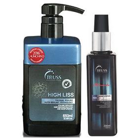 Truss High Liss Selagem Térmica 650ml +amino + Kit Specific