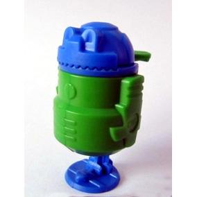 Juguete Robot Kinder Colección 1995 Huevo Retro Espacial