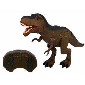 Dinossauro Controle Remoto Infravermelho Sons Movimento