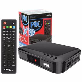 Conversor E Gravador Digital De Tv Isdb-t Sc-1001 Pix