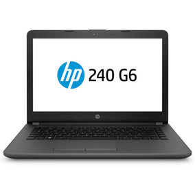 Notebook Hp G6 240 Intel N3060 4gb 500gb Dvdrw Bt Hdmi Led