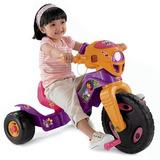 Moto Montable Dora La Exploradora Fisher-price Morado