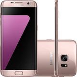 Celular Samsung Galaxy S7 Edge Rose Android 6.0 Tela 5.5