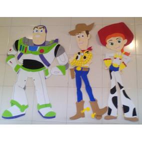 Figuras Toy Story Fomi 1 Mt Buzz Foami Woody Fomy Jessy