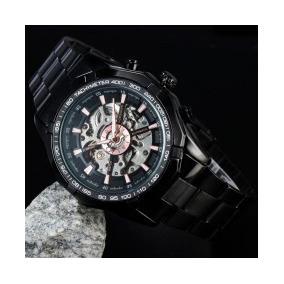 Reloj Skeleto Original Winner Mecánico Automático Env. Grati