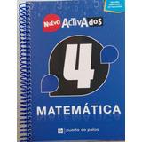 Nuevo Activados 4 Matematica - Puerto De Palos