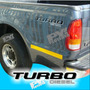 Calco Turbo Diesel Ford F100 Calcomania Ploteoya!