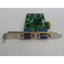 Placa Vídeo Thinetworks Tn 750 Dual Vga - Para 2 Monitores