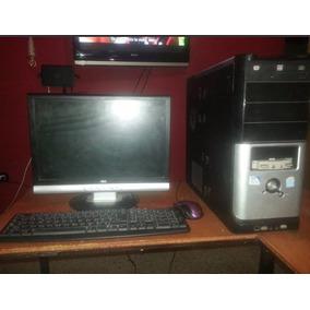 Combo Cpu Dual Core 2.8 + Monitor 17 Lcd + Tecl + Mouse