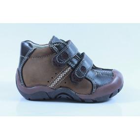 Zapatos Pingo Sandy Café Para Niño