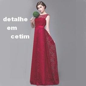 Belo Vestido Em Renda Para Noite Festas Casamento Lindo