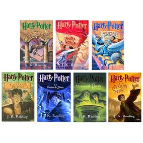 8 Livros - Harry Potter - Coleção Completa Promoção