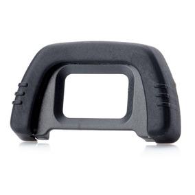 Ocular De Hule Dk-21 Para Nikon D300, D200, D90, D80 - Negro