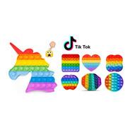 Juguete Pop It Anti Popits Popit Estres Silicona Colores