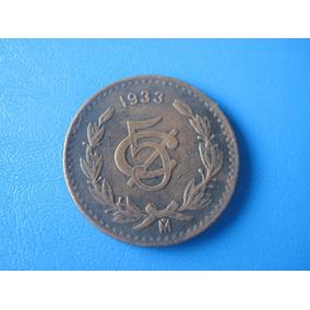 Moneda De 5 Centavos De 1933