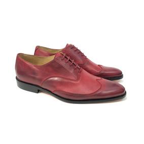 Oferta Zapato Combinados Vestir Base Suela Cuero Puerto Blue