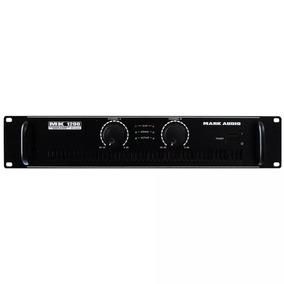 Amplificador Potencia Mark Audio Mk1200 Stereo 200w Rms