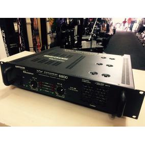 Amp Estéreo 2 Canais W Power 6800 - Ciclotron - Loja Jarbas