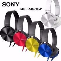 Fone De Ouvido Sony Universal Mdr-xb450ap Pc Celular