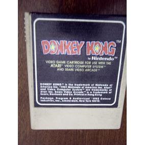 Donkey Kong Cartucho Atari 2600 Rarity 1 Funcionando