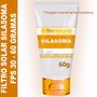 Filtro Solar Natural De Silasoma Fps 30 - 60 Gramas - 105