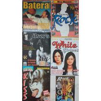 6 Revistas Poster E Especial Doors Kiss Led Zeppelin