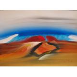 Rafael Calzada Pintura Acrilico Abstracto Expresionista 1989