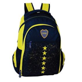Mochila Boca Juniors Licencia Oficial 18 Bj364