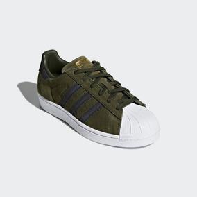 adidas Superstar Gamuza Verde -envío Gratis- Originales