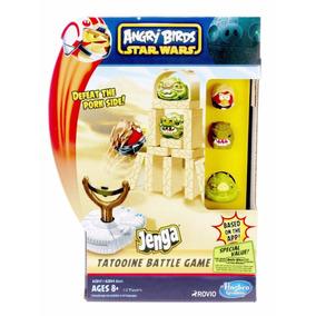 Jogo Angry Birds Star Wars Jenga Tatooine Hasbro